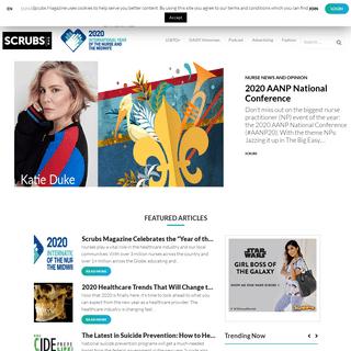 Scrubs Magazine - Nurse News & Opinion, Health News, Nurse Humor