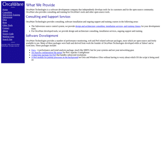 OrcaWare Technologies Home Page