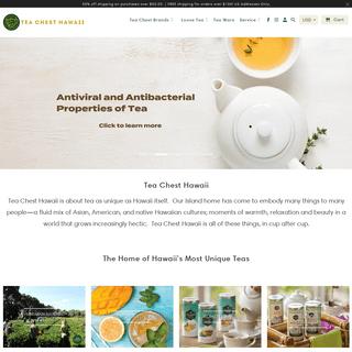 Fresh Hawaiian Summer Teas - Healthy Organic Tea - TeaChest.com