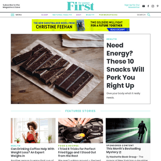 First For Women - Natural Health, Quick Tips, Women Over 45