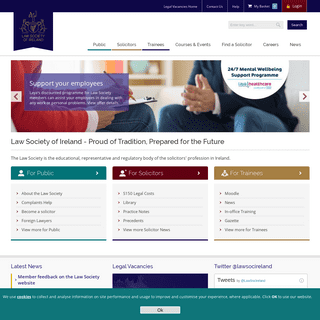 The Law Society of Ireland - Regulatory, Educational and Membership Body For Irish Solicitors