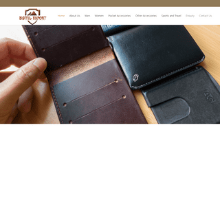 Bismil_Export - A Quality House of Leather Goods