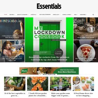Essentials - Your life made easy