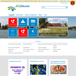 Inwoners - Website