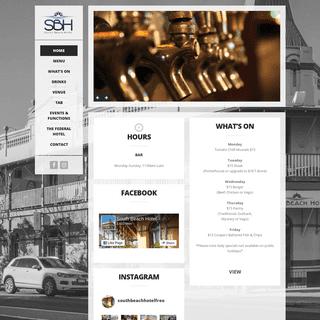 Sbh – South Beach Hotel South Fremantle