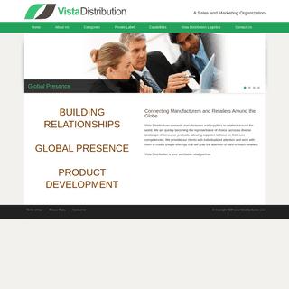 Vista Distribution Home