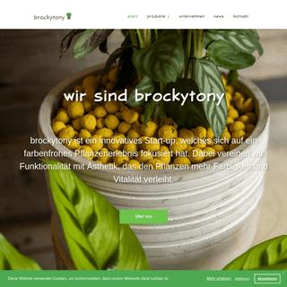 Startseite - brockytony GmbH - Weiden i.d.OPf.