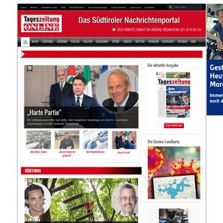 ArchiveBay.com - tageszeitung.it - Die Neue Südtiroler Tageszeitung
