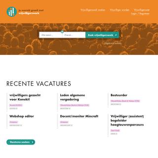 Recente vacatures & nieuws - Vlaams Steunpunt Vrijwilligerswerk vzw