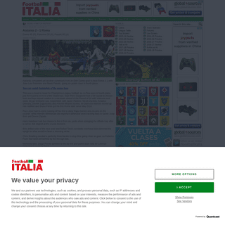 ArchiveBay.com - www.football-italia.net/SerieA/match/142597 - Atalanta vs Roma - Football Italia