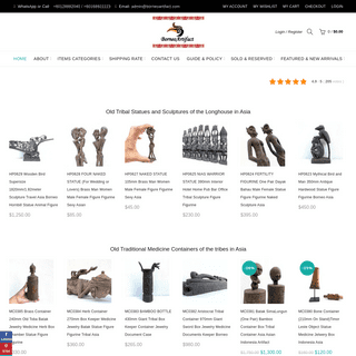 Asian antique, tribal arts, cultural ornaments and tradition