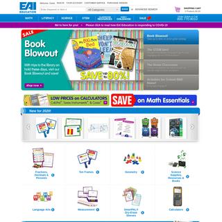 ArchiveBay.com - eaieducation.com - EAIeducation.com - School and Teacher Supplies for PreK-12 Classrooms