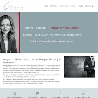 Career Impressions - Canadian Resume Writing - Calgary Executive Resume Writer