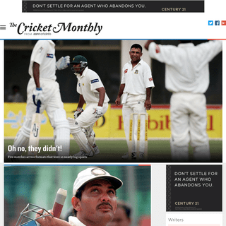 The Cricket Monthly - ESPNcricinfo's digital cricket magazine