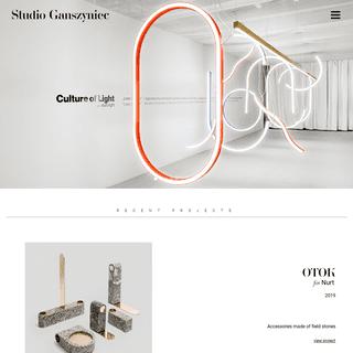 ArchiveBay.com - studioganszyniec.com - Studio Ganszyniec - Furniture and Product Design