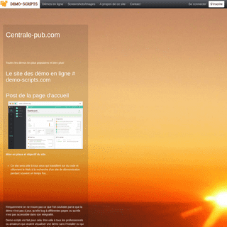 Le site des démo en ligne # demo-scripts.com