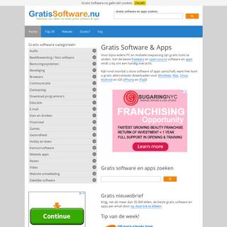 Gratis Software.nu • Download Software & Apps Gratis