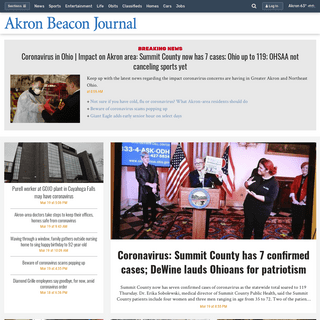 Akron Beacon Journal- Local News, Politics, Entertainment & Sports in Akron, OH