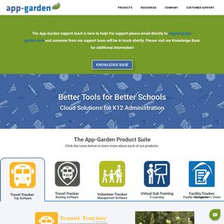 Cloud Solutions for K12 Administration - App-Garden