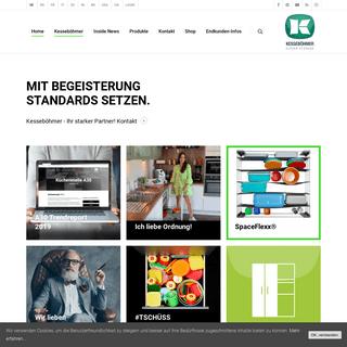 Home - Beschlagsysteme für Möbel - Kesseböhmer