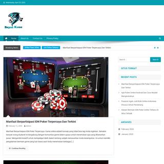 Portal Berita Terbaru Dan Panduan Bermain Casino Online Terpercaya