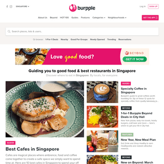 Burpple- Discover Good Food & Best Restaurants in Singapore