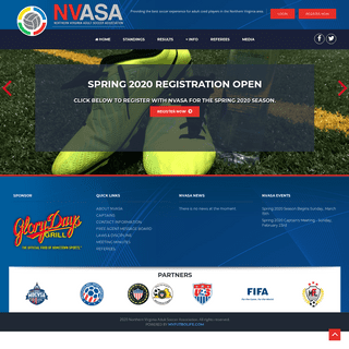 ArchiveBay.com - nvasa.org - Northern Virginia Adult Soccer