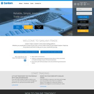 Sanlam iTrade Online Share Trading
