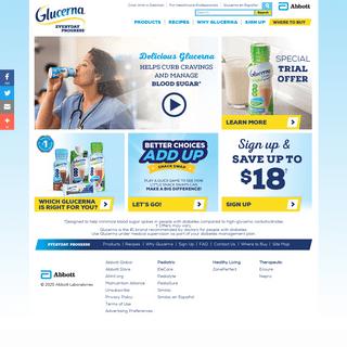 ArchiveBay.com - glucerna.com - Glucerna Shakes & Bars for Diabetes and Blood Sugar Management