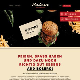 Bolero Restaurant Zentrale - Restaurant & Lifestyle Bar