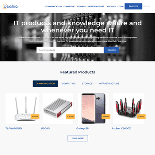 Shop, Compare, and Read Reviews for IT Products - Dealna