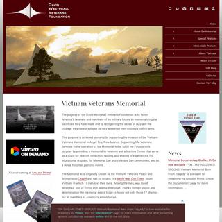 Vietnam Veterans Memorial – David Westphall Veterans Foundation