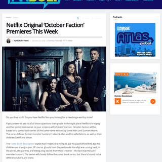 ArchiveBay.com - www.fanbolt.com/98624/netflix-original-october-faction-premieres-this-week/ - Netflix Original 'October Faction' Premieres This Week - FanBolt