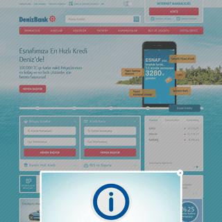 A complete backup of denizbank.com