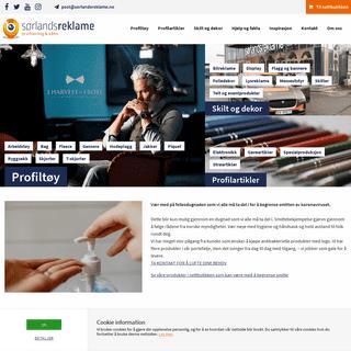 Sørlandsreklame - Profilering & sånn