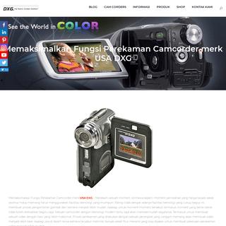 ArchiveBay.com - dxgusa.com - Mini Camcorder DXG