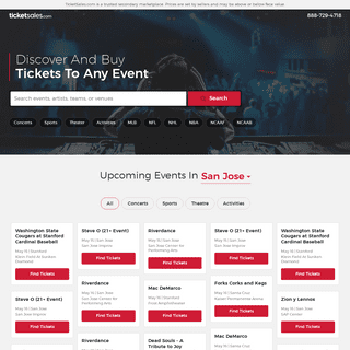 TicketSales.com - Concerts, Sports & Theater Tickets