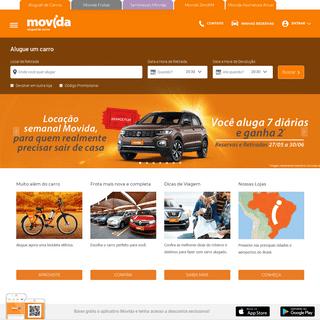 ArchiveBay.com - movida.com.br - Aluguel de carro rápido, fácil e com o melhor preço é na Movida