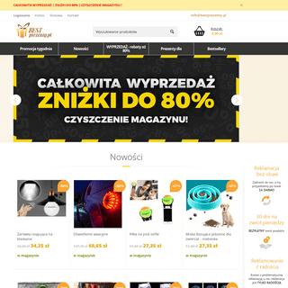 Prezenty dla wszystkich z 85- zniżką - BestPrezenty.pl