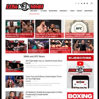 MMA News & UFC News, Rumors & Results - LowKick MMA