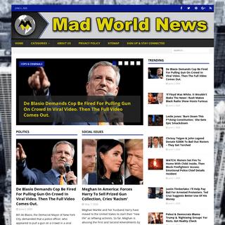 Home • Mad World News