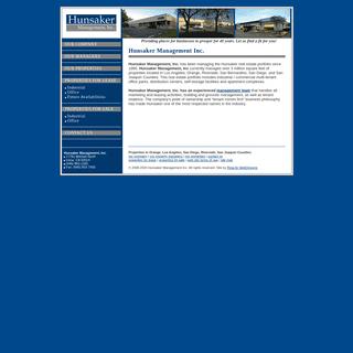 Property for Lease - Los Angeles - Orange - Riverside - San Bernardino - San Diego - San Joaquin - Hunsaker Management