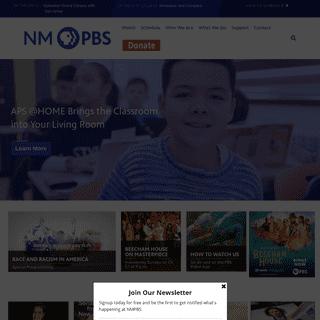 Home - New Mexico PBS, KNME-TV