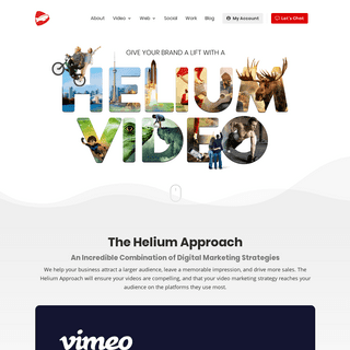 Video Production, Social Media, and Web Design for the GTA