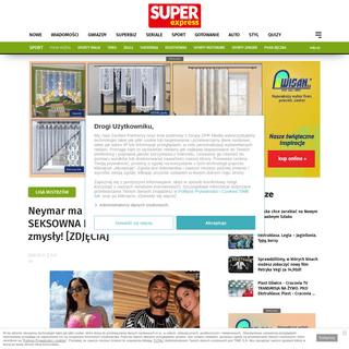Neymar ma nową dziewczynę-! SEKSOWNA Natalia Barulich rozpala zmysły! [ZDJĘCIA] - Super Express
