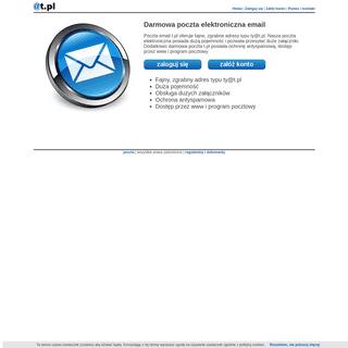 Poczta t.pl - Darmowa poczta elektroniczna email