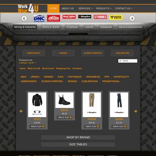 WorkWear 4U Store