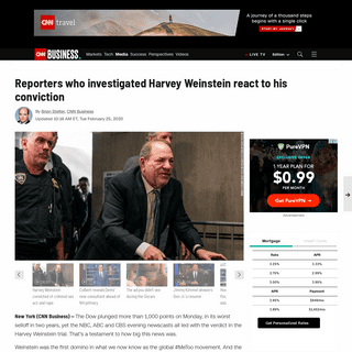 Reporters who investigated Harvey Weinstein react to his conviction - CNN