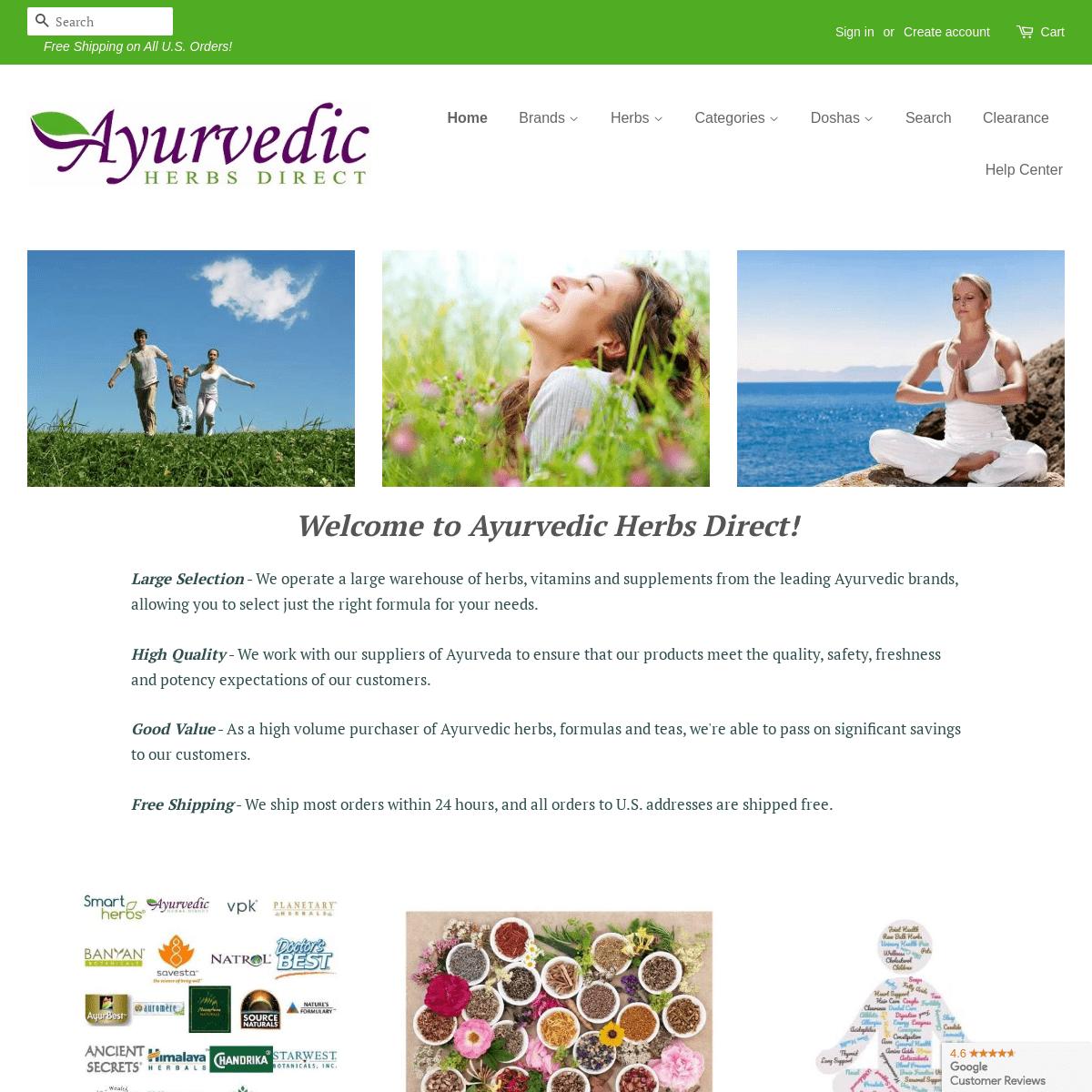 Ayurvedic Herbs Direct