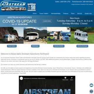Boise Idaho Airstream Adventures Northwest
